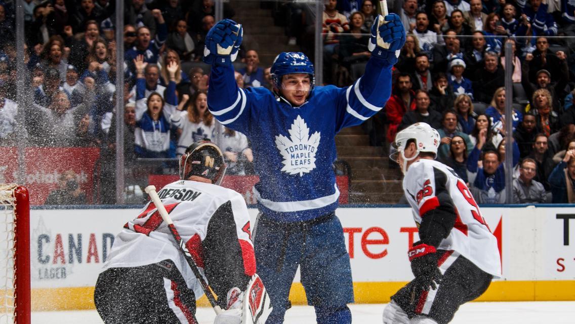 Leafs vs Senators