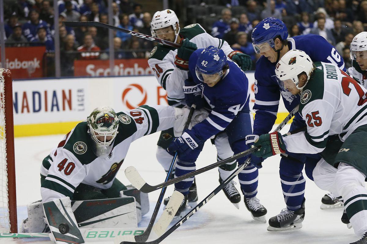 Maple Leafs vs Wild