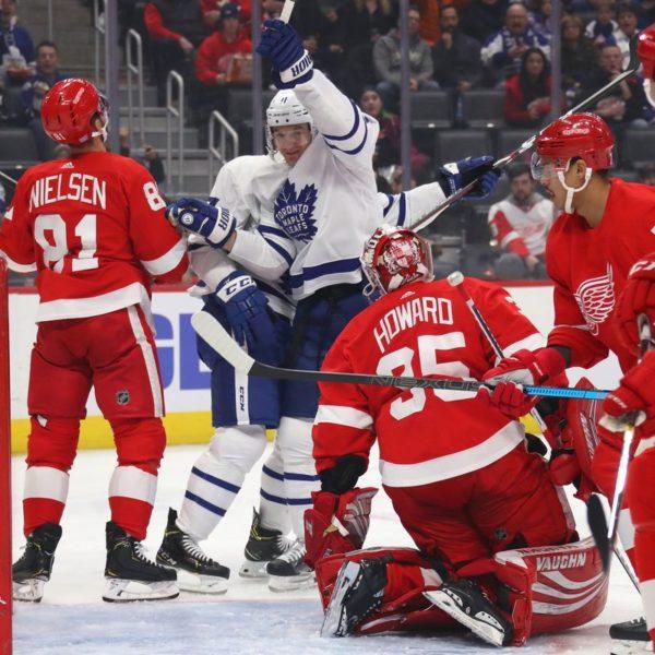 Leafs vs Red Wings