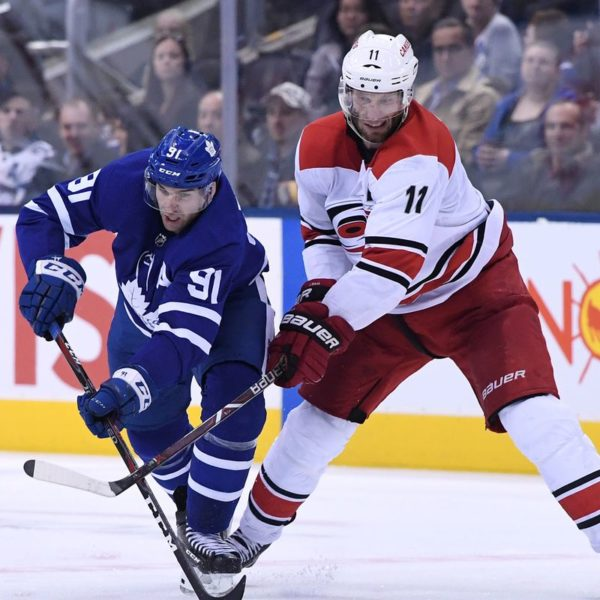 Leafs vs Hurricanes